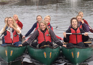 canoeing tours in The New Forest